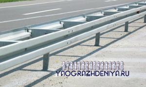 Дорожные ограждения барьерного типа — бордюр дорожный, дорожные блоки