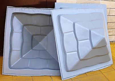 Пластмассовые колпаки для заборных столбов