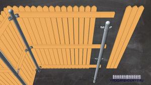 металлические опоры для столбов