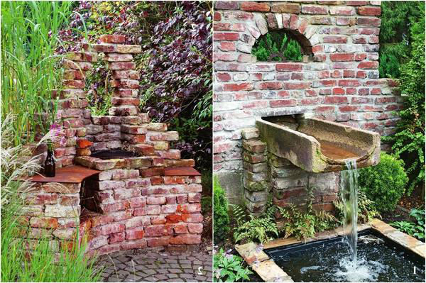 Декоративные руины на участке