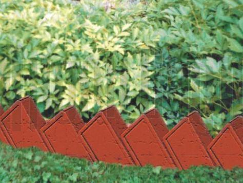 Кирпичный заборчик для дачи
