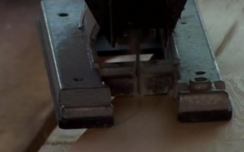 Резьба штакетника электролобзиком