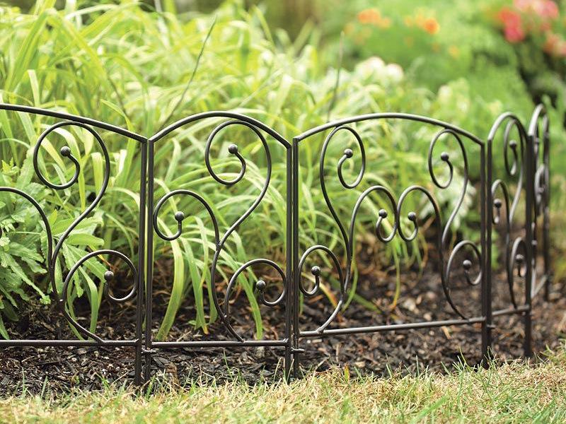 Декоративный забор из металла своими руками